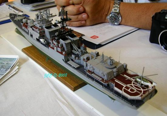 Un destroyer Russe